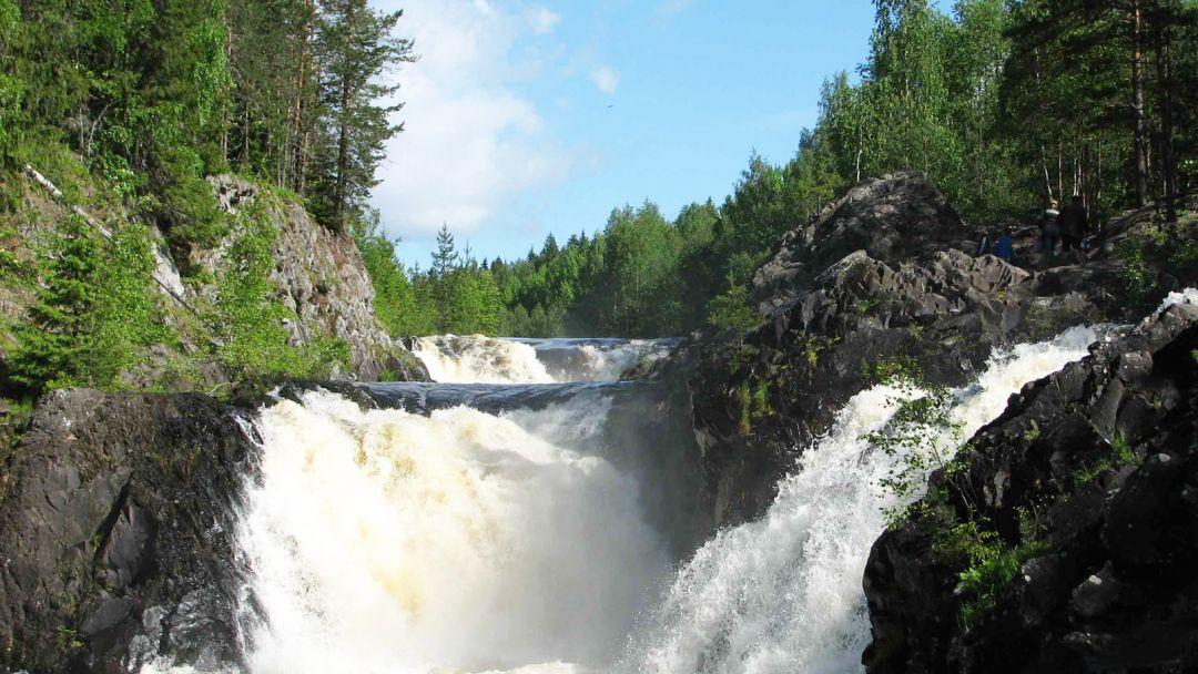 Экскурсия Первый российский курорт Марциальные воды - водопад Кивач