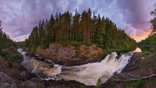 Первый российский курорт Марциальные воды - водопад Кивач - фото 2