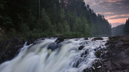 Первый российский курорт Марциальные воды - водопад Кивач - фото 3