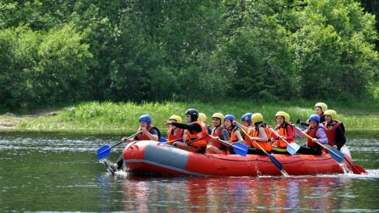 Экскурсия Сплав на рафтах по реке Шуя в Петрозаводске