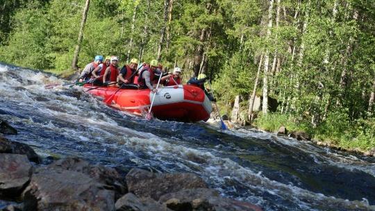 Сплав на рафтах по реке Шуя - фото 2