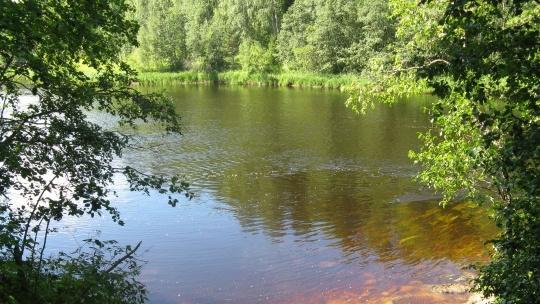 река Шуя в Петрозаводске