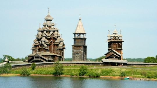 Остров Кижи в Петрозаводске