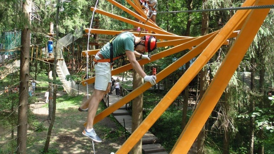 Экскурсия Веревочный парк по Москве