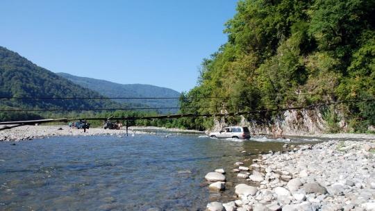 Экскурсия Долина реки Буу в Адлере
