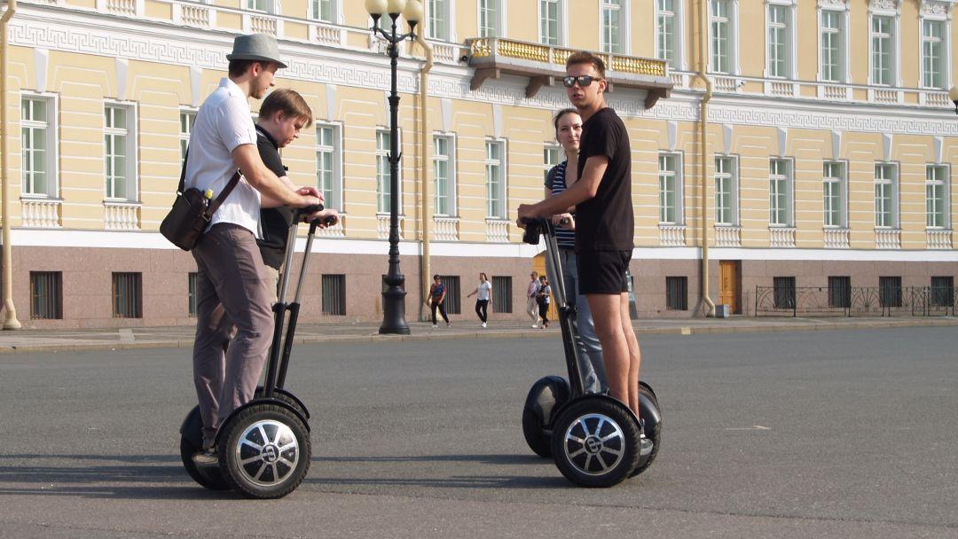 Экскурсия Тематическая на сигвее - Революционный Петербург