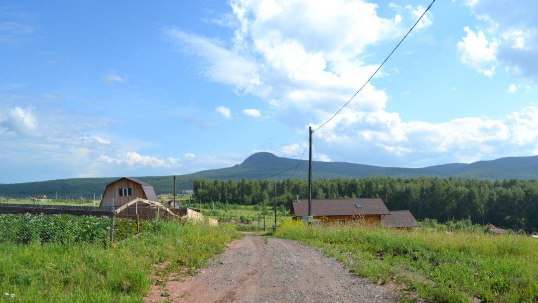 Чёрная сопка по Красноярску