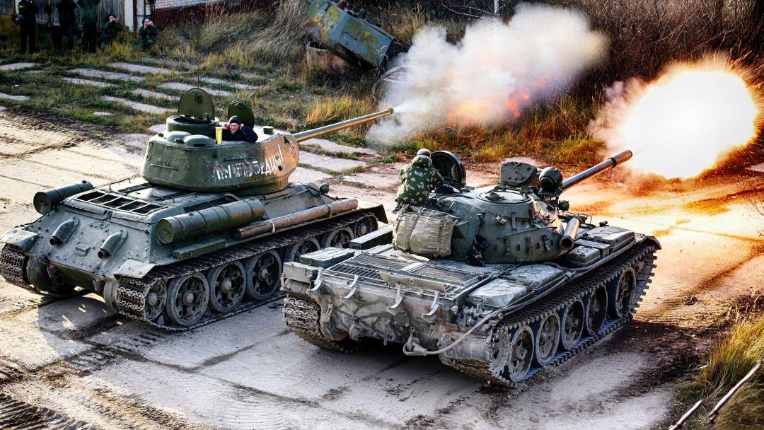 Катание на боевом танке и музей бронетехники - фото 2