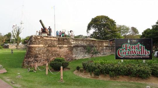 Форт Корнуоллис по Малайзии