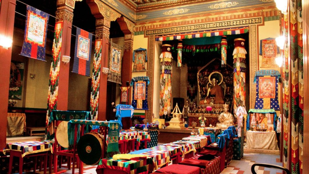 Буддийский храм в Санкт-Петербурге в Санкт-Петербурге