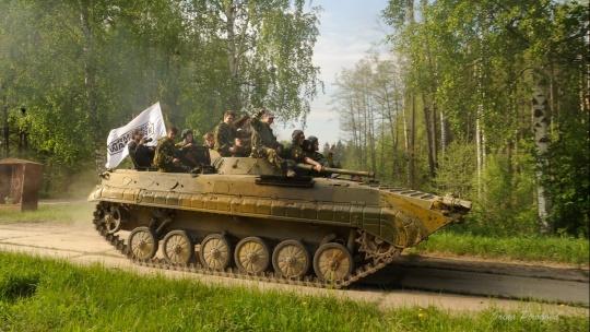 Катание на бронетехнике (БРДМ-2, танк Т-62, БТР-80, БМП-1) - фото 5