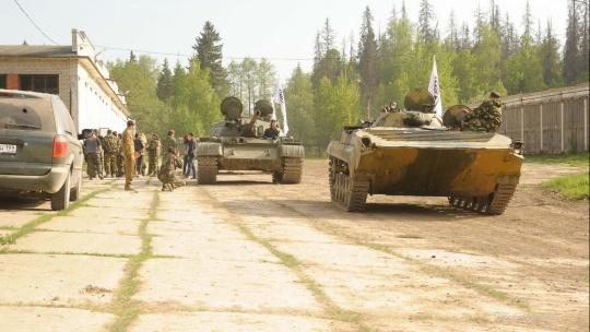 Катание на бронетехнике (БРДМ-2, танк Т-62, БТР-80, БМП-1) - фото 6