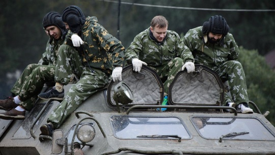 Катание на бронетехнике (БРДМ-2, танк Т-62, БТР-80, БМП-1) - фото 2