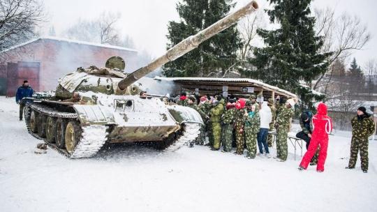 Экскурсия Катание на танке Т-62 по Москве
