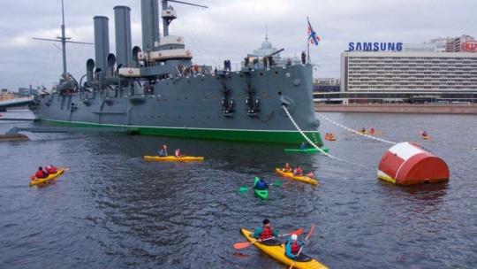 Экскурсия Утренняя прогулка на морских каяках по рекам и каналам Санкт-Петербурга в Санкт-Петербурге