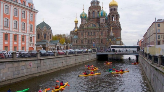 Экскурсия По Новоладожскому каналу на каяках в Санкт-Петербурге