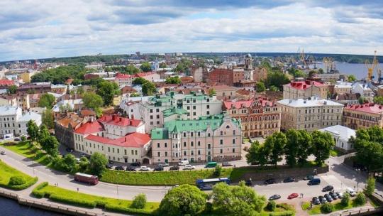 Выборг в Санкт-Петербурге