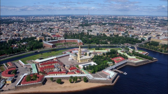 Полёт на вертолёте над центром Санкт-Петербурга - фото 2