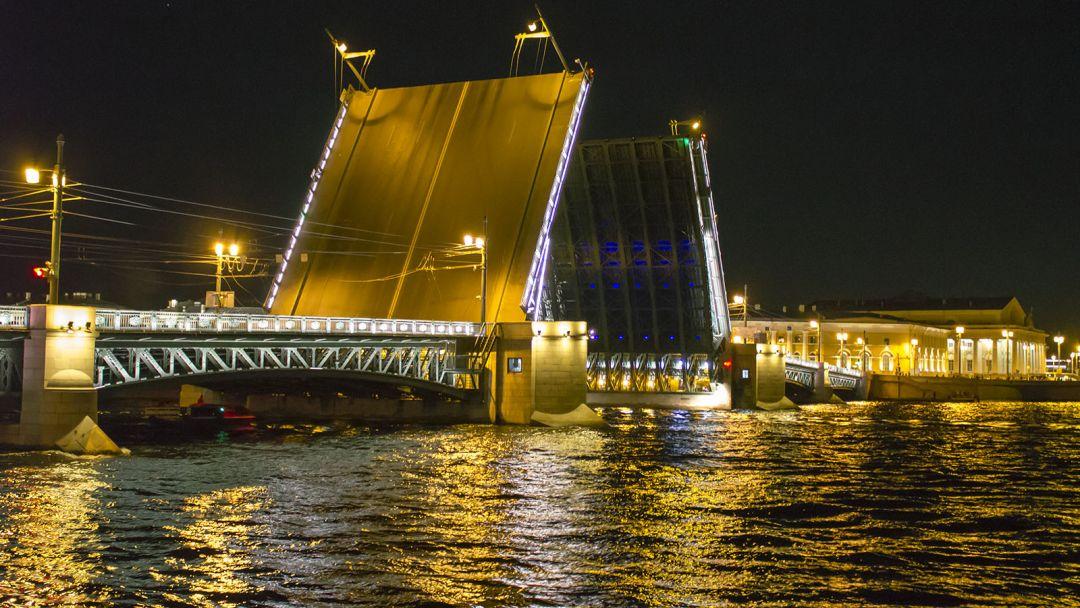 Ночная обзорная экскурсия с панорамой разведения мостов - фото 2