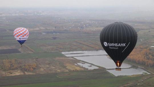 Экскурсия Полет на воздушном шаре на высоте 1500м над землей по Москве