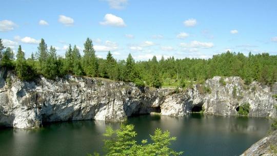 Экскурсия Рускеала - Мраморное сердце Карелии в Санкт-Петербурге
