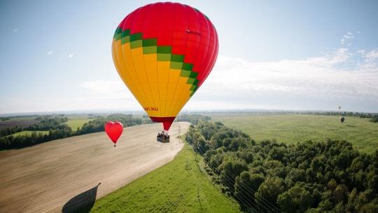 Экскурсия Полет на воздушном шаре для двоих или компании