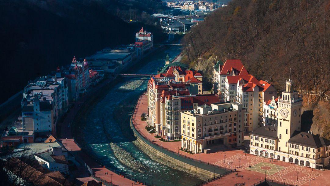 Красная Поляна и Олимпийский парк (внешний осмотр) - фото 1