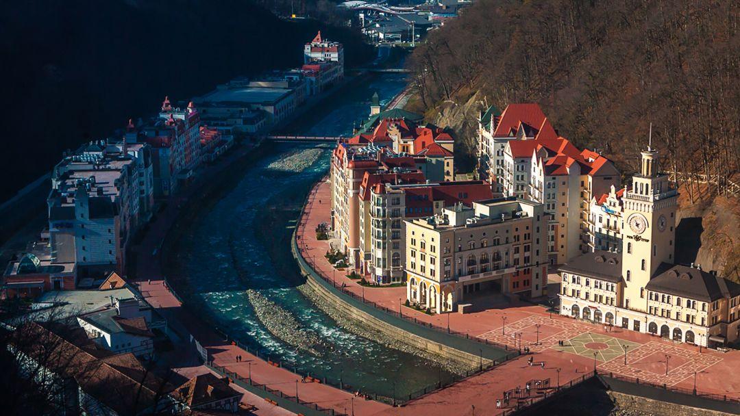Экскурсия Красная Поляна и Олимпийский парк (внешний осмотр)