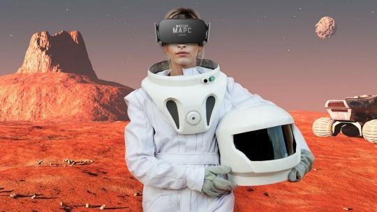 """Экскурсия Виртуальная реальность: """"Миссия """"Марс"""" по Москве"""