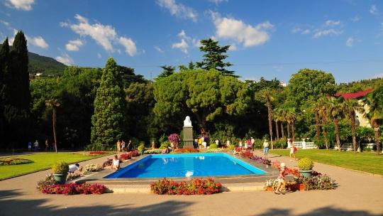 Экскурсия Никитский Ботанический сад и кактусовая оранжерея по Ореанде