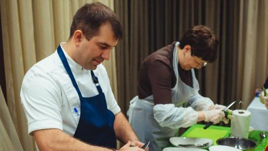 Экскурсия Мастер-класс по кулинарии под руководством шеф-повара