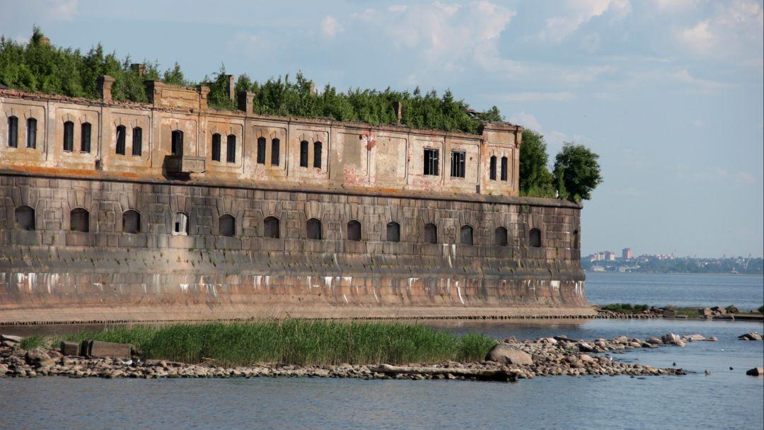 Морская прогулка по фортам Кронштадта - фото 2