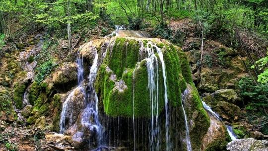 Большой каньон - застывшая сказка Крыма - фото 4