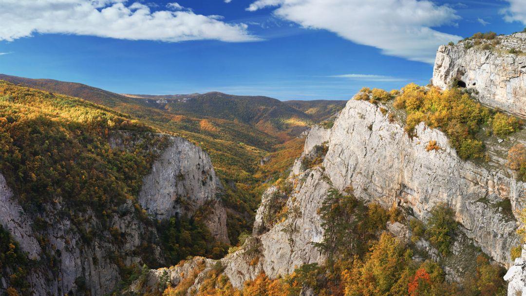Большой каньон - застывшая сказка Крыма - фото 1