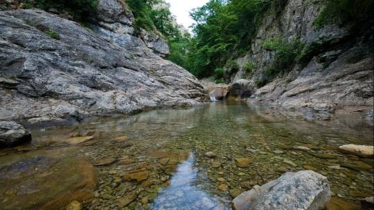 Большой каньон - застывшая сказка Крыма - фото 3