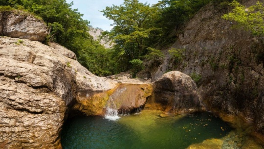 Большой каньон - застывшая сказка Крыма - фото 5