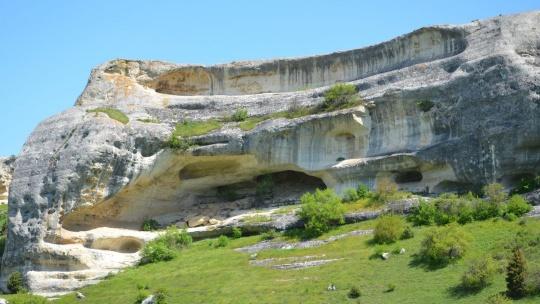 Пещерный город Эски-Кермен - фото 6