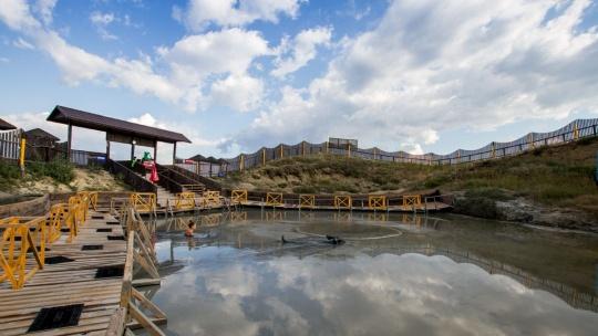 Экскурсия Тиздар - Грязевой вулкан на берегу азовского моря в Анапе