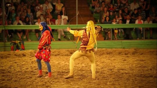 Рыцарский турнир в замке  - фото 5