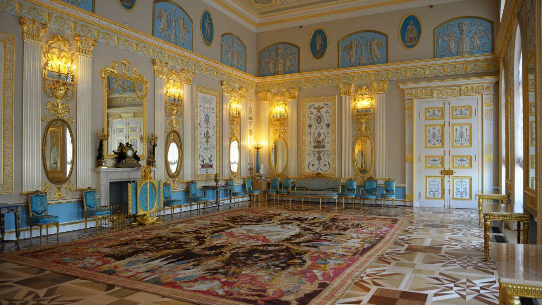 Пушкин (Царское Село) - Павловск (Екатерининский дворец, Янтарная комната и Павловский дворец) - фото 9