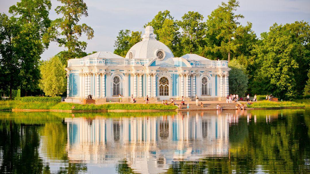 Вечерний Пушкин (Царское Село) с посещением Екатерининского дворца и Янтарной комнаты - фото 4
