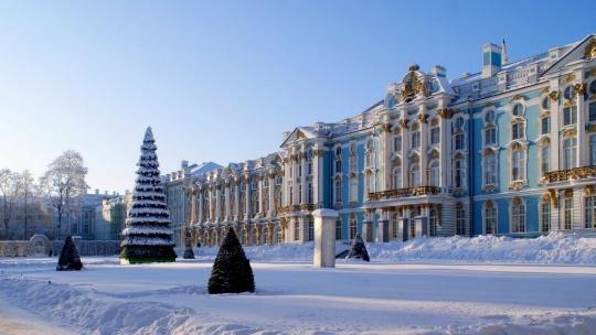 Вечерний Пушкин (Царское Село) с посещением Екатерининского дворца и Янтарной комнаты - фото 5