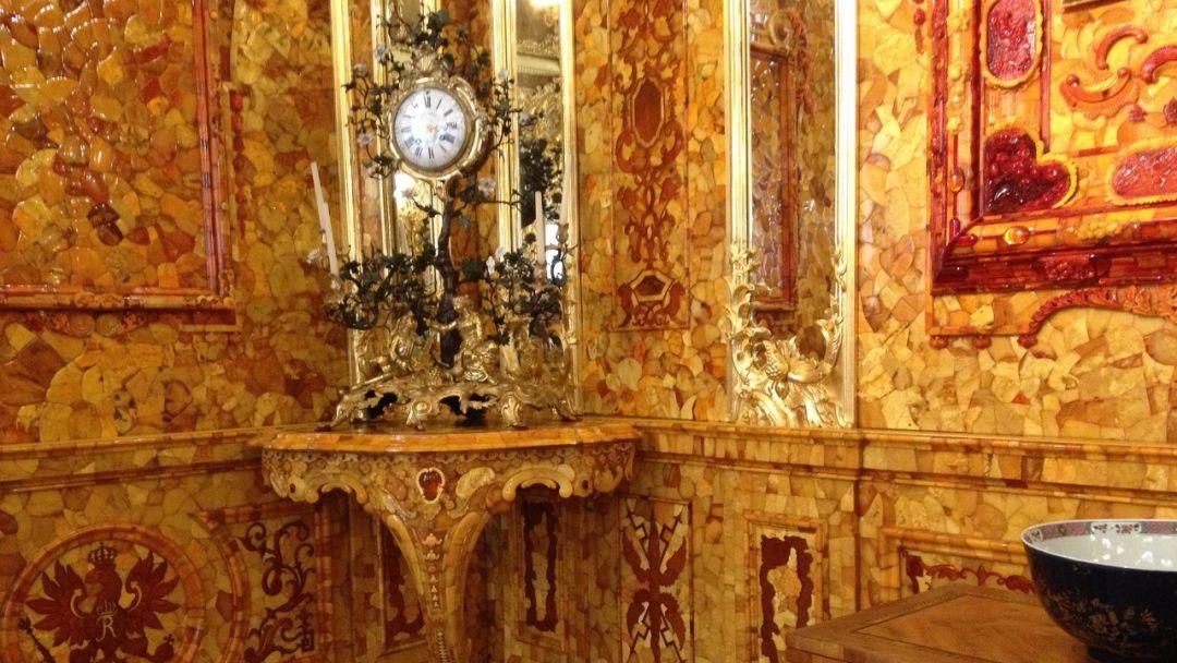 Вечерний Пушкин (Царское Село) с посещением Екатерининского дворца и Янтарной комнаты - фото 8