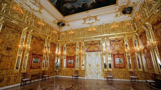 Вечерний Пушкин (Царское Село) с посещением Екатерининского дворца и Янтарной комнаты - фото 10