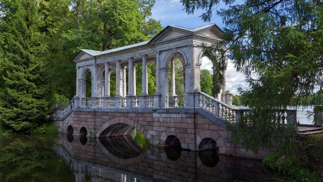 Вечерний Пушкин (Царское Село) с посещением Екатерининского дворца и Янтарной комнаты - фото 11