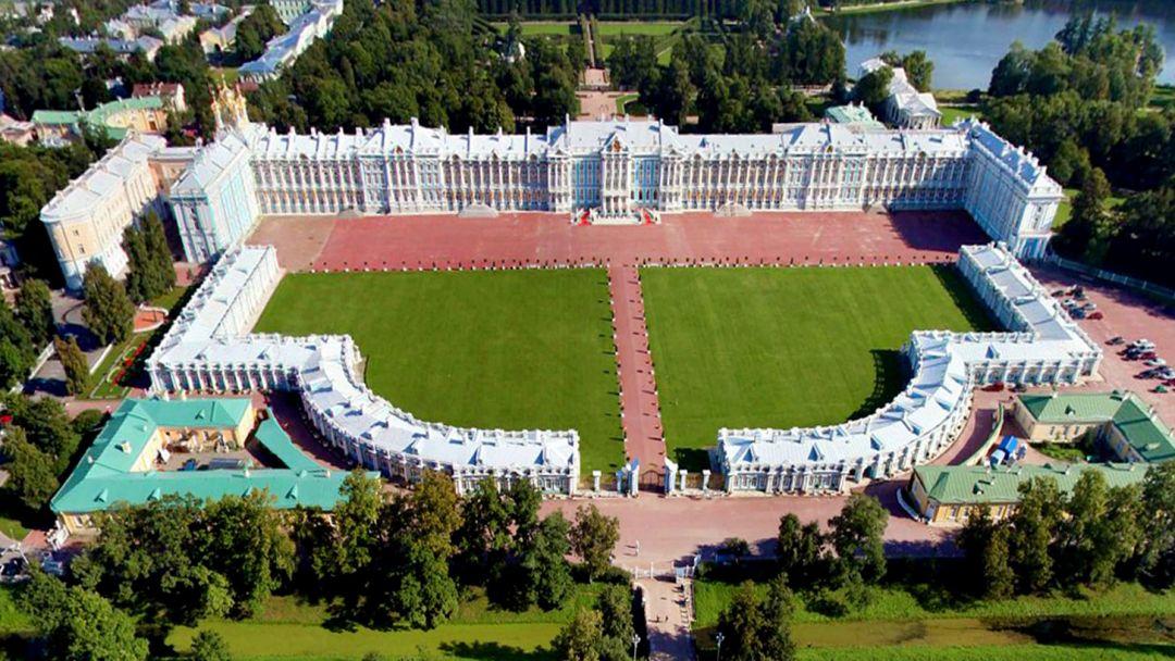 Вечерний Пушкин (Царское Село) с посещением Екатерининского дворца и Янтарной комнаты - фото 12
