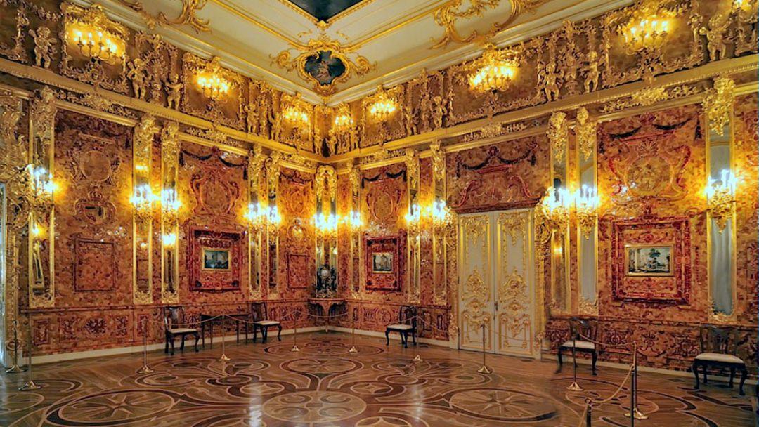 Пушкин: Царскосельский Лицей, Екатерининский дворец и Янтарная комната - фото 3
