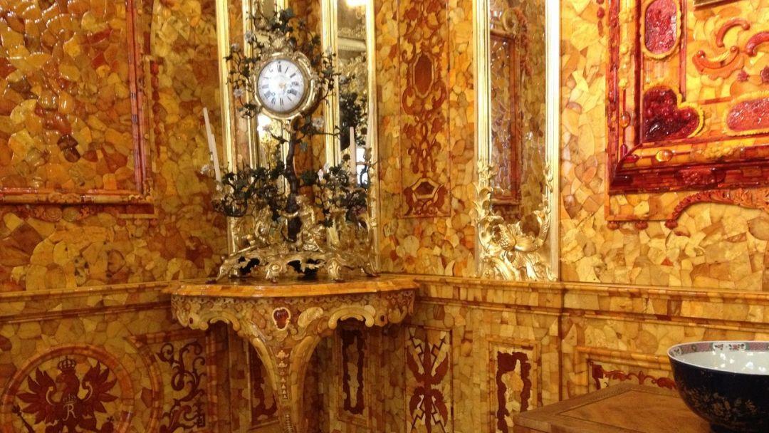 Пушкин: Царскосельский Лицей, Екатерининский дворец и Янтарная комната - фото 11