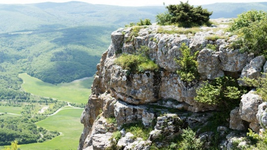 Пещерный город Мангуп-Кале  - фото 2