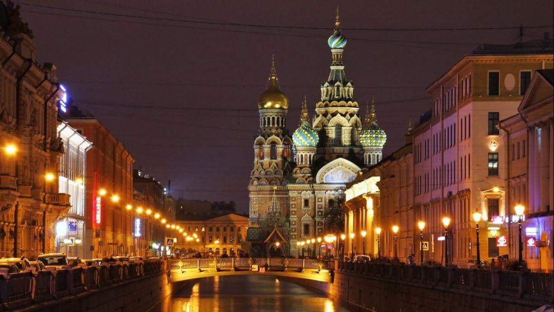 Экскурсия Ночной Петербург с посещением Петропавловской крепости и водная прогулка